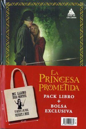 LA PRINCESA PROMETIDA (PACK LIBRO + BOLSA)