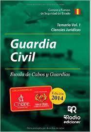 GUARDIA CIVIL. ESCALA DE CABOS Y GUARDIAS. BATERÍAS DE TEST POR MATERIAS Y PROBL