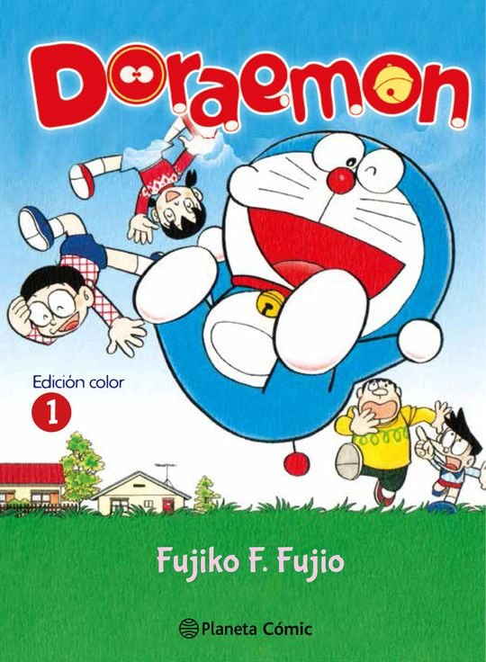 DORAEMON COLOR Nº 01/06