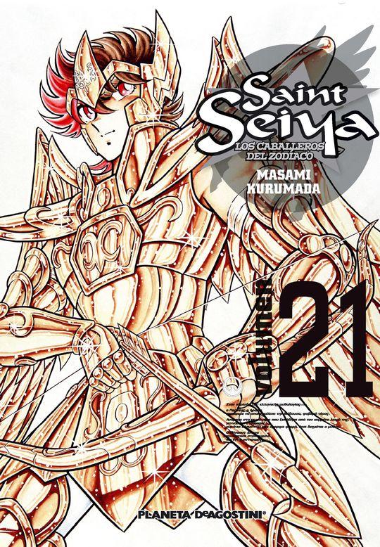 SAINT SEIYA Nº 21/22