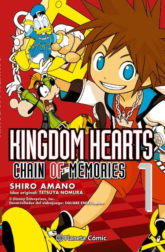 KINGDOM HEARTS CHAIN OF MEMORIES Nº 01/02 (NUEVA EDICIÓN)