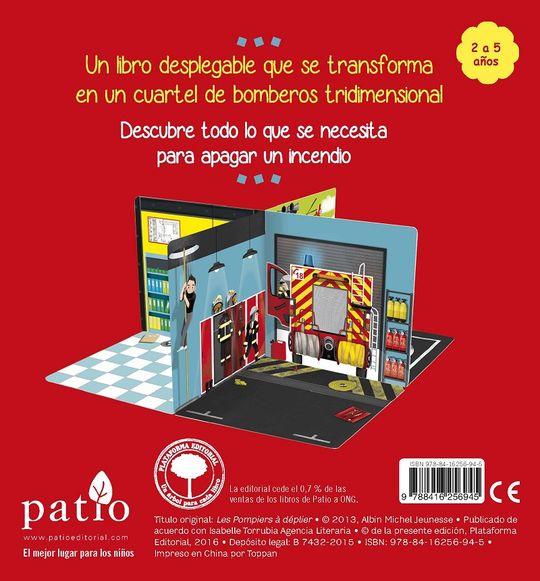 LOS BOMBEROS DESPLEGABLE
