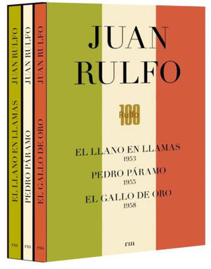 JUAN RULFO CAJA CONMEMORATIVA CENTENARIO (3 VOLUMENES)