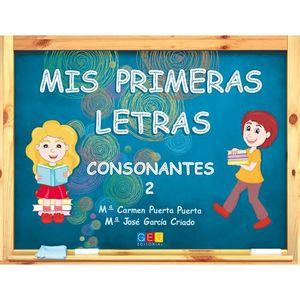 MIS PRIMERAS LETRAS CONSONANTES 2