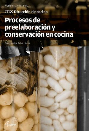PROCESOS PREELABORACIÓN Y CONSERVACIÓN EN COCINA