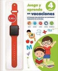 JUEGA Y APRENDE EN VACACIONES 4 AÑOS EDUCACION INFANTIL