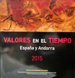 VALORES EN EL TIEMPO 2015