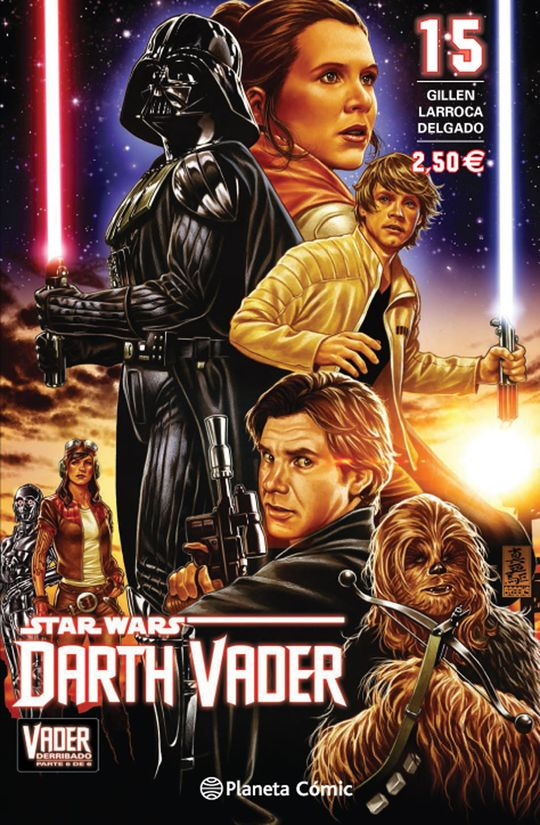STAR WARS DARTH VADER Nº 15/25 (VADER DERRIBADO 6 DE 6)