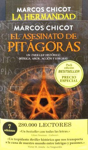 PACK REGALO EL ASESINATO DE PITÁGORAS Y LA HERMANDA
