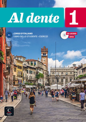 AL DENTE 1 LIBRO DELLO STUDENTE + ESERCIZI + CD+DVD