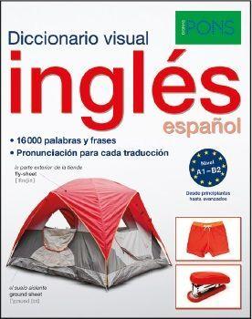 DICCIONARIO PONS VISUAL INGLES/ESPAÑOL (A1-B2)