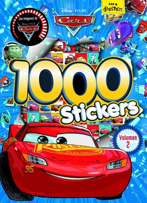 CARS 3. 1000 STICKERS. VOLUMEN 2