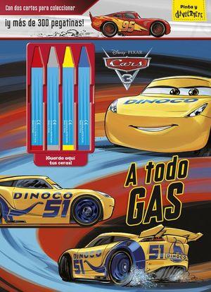 CARS 3. A TODO GAS. PINTA Y DIVIERTETE CERAS