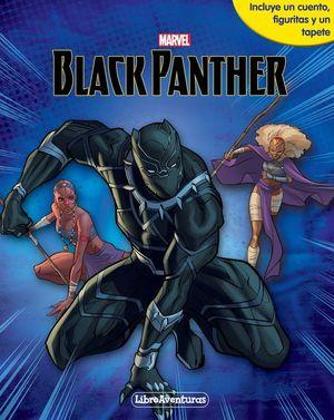 MARVEL. BLACK PANTHER LIBROAVENTURAS