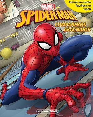 MARVEL SPIDER-MAN. COMPAÑEROS ARACNIDOS. LIBRO-JUEGO