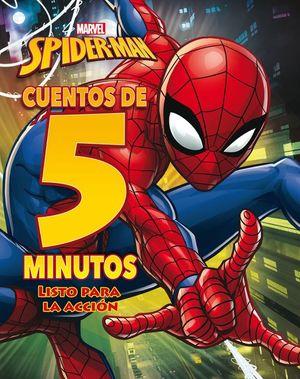 SPIDER-MAN. CUENTOS DE 5 MINUTOS. LISTO PARA LA ACCION