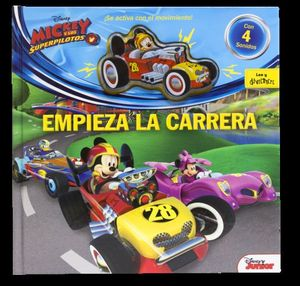 MICKEY Y LOS SUPERPILOTOS. EMPIEZA LA CARRERA
