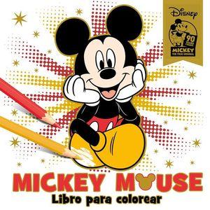 MICKEY MOUSE LIBRO PARA COLOREAR