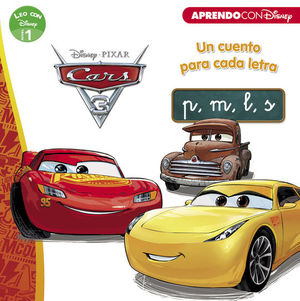 CARS 3. UN CUENTO PARA CADA LETRA: P, M, L, S