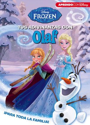 TUS ADIVINANZAS CON OLAF (ADIVINANZAS DISNEY)