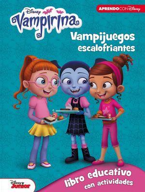 DISNEY VAMPIRINA. VAMPIJUEGOS ESCALOFRIANTES (5-7 AÑOS)