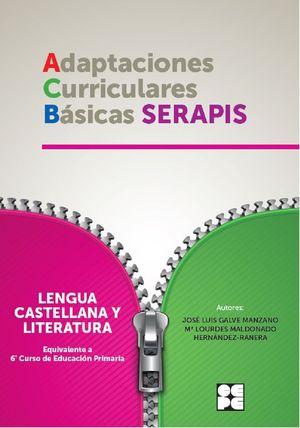 LENGUA 6P - ADAPTACIONES CURRICULARES BÁSICAS SERAPIS