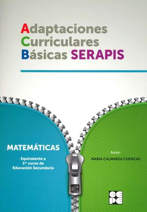 MATEMATICAS 1ESO - ADAPTACIONES CURRICULARES BÁSICAS SERAPIS