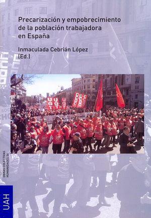 PRECARIZACION Y EMPOBRECIMIENTO POBLACIÓN TRABAJADOR EN ESPAÑA