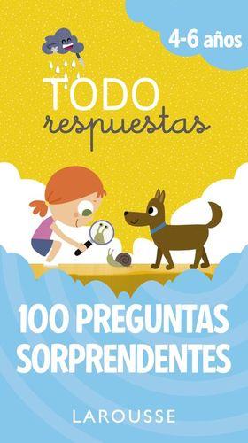 TODO RESPUESTAS 4-6 AÑOS. 100 PREGUNTAS SORPRENDENTES