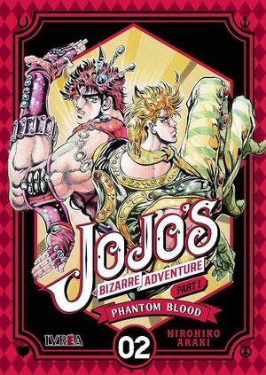 JOJO'S BIZARRE ADVENTURE PARTE 01: PHANTON BLOOD N 02