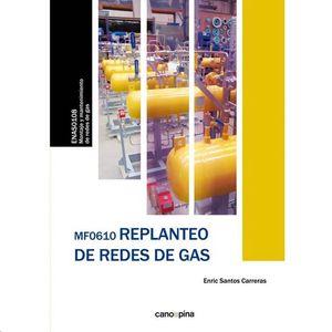MF0610 REPLANTEO DE REDES DE GAS