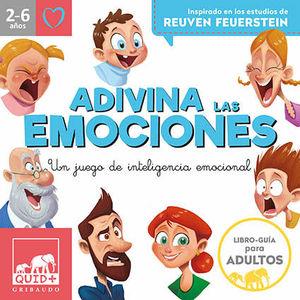 ADIVINA LAS EMOCIONES (2-6 AÑOS)