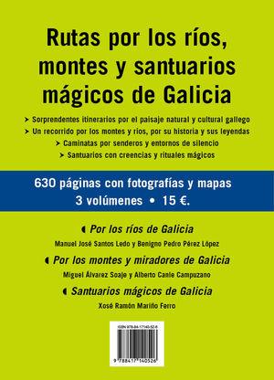RUTAS POR LOS RIOS, MONTES Y SANTUARIOS MAGICOS DE GALICIA