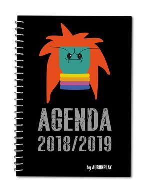 AGENDA ESCOLAR AURONPLAY 2018-2019