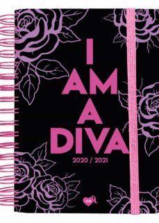 AGENDA ESCOLAR 2020-2021 LA VECINA RUBIA. I AM A DIVA (ROJA)