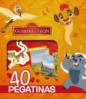 EL REY LEÓN. LA GUARIDA DEL LEON 40 PEGATINAS