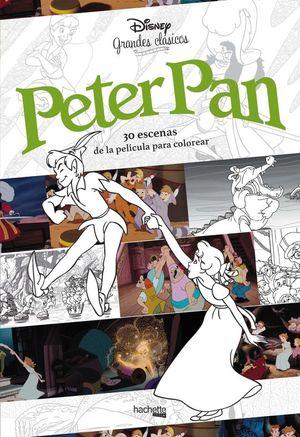 PETER PAN. 30 ESCENAS DE LA PELICULA PARA COLOREAR