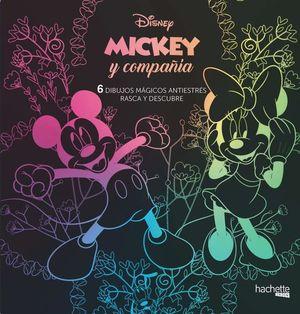 MICKEY MOUSE. 6 DIBUJOS MAGICOS ANTIESTRES: RASCA Y DESCUBRE