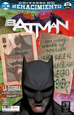 BATMAN NÚM. 68/13 (RENACIMIENTO)