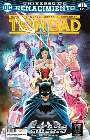 BATMAN/SUPERMAN/WONDER WOMAN: TRINIDAD NÚM. 11 (RENACIMIENTO)
