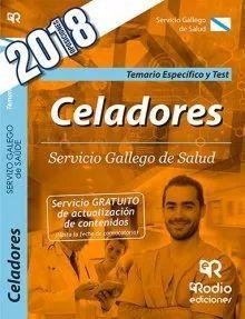 CELADORES SERGAS TEMARIO ESPECIFICO Y TEST