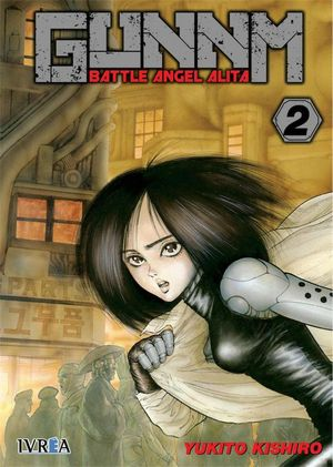 GUNNM. BATTLE ANGEL ALITA Nº 02