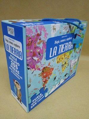 LA TIERRA (LIBRO + PUZLE)