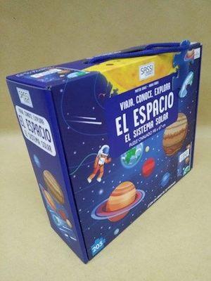 EL ESPACIO. EL SISTEMA SOLAR (LIBRO + PUZLE)