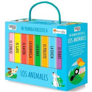 LOS ANIMALES. MI PRIMERA BIBLIOTECA