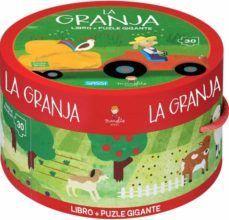 LA GRANJA (LIBRO + PUZLE GIGANTE CAJA REDONDA)
