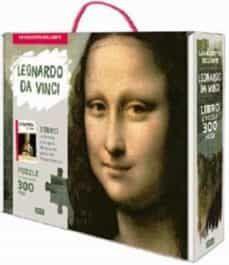 LEONARDO DA VINCI. PUZLE LA MONA LISA + LIBRO