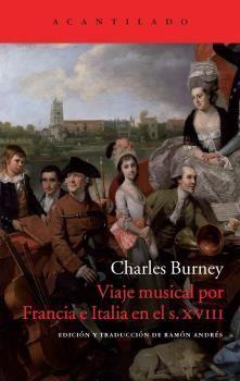 VIAJE MUSICAL POR FRANCIA E ITALIA EN EL S.XVIII