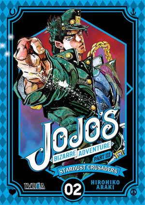 JOJO'S BIZARRE ADVENTURE, PART III: STARDUST CRUSADERS, VOL. 02