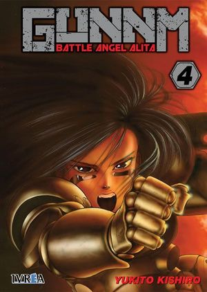 GUNNM BATTLE ANGEL ALITA Nº 04